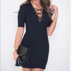Black Dress from Pink Lily Boutique